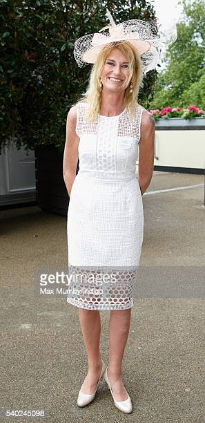 Sally Bercow attends day 1 of Royal Ascot at Ascot Racecourse on June 14 2016 in Ascot England