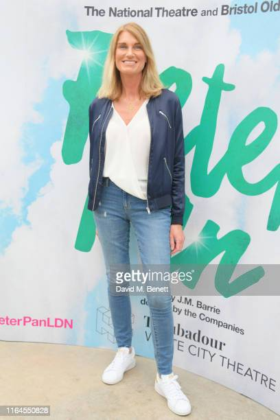 Sally Bercow attends the press performance of Peter Pan at the Troubadour White City Theatre on July 27 2019 in London England