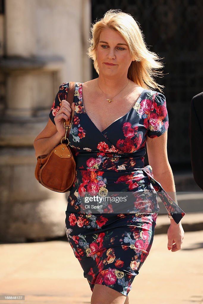 Sally Bercow In Court Over Tweet About Lord McAlpine : News Photo