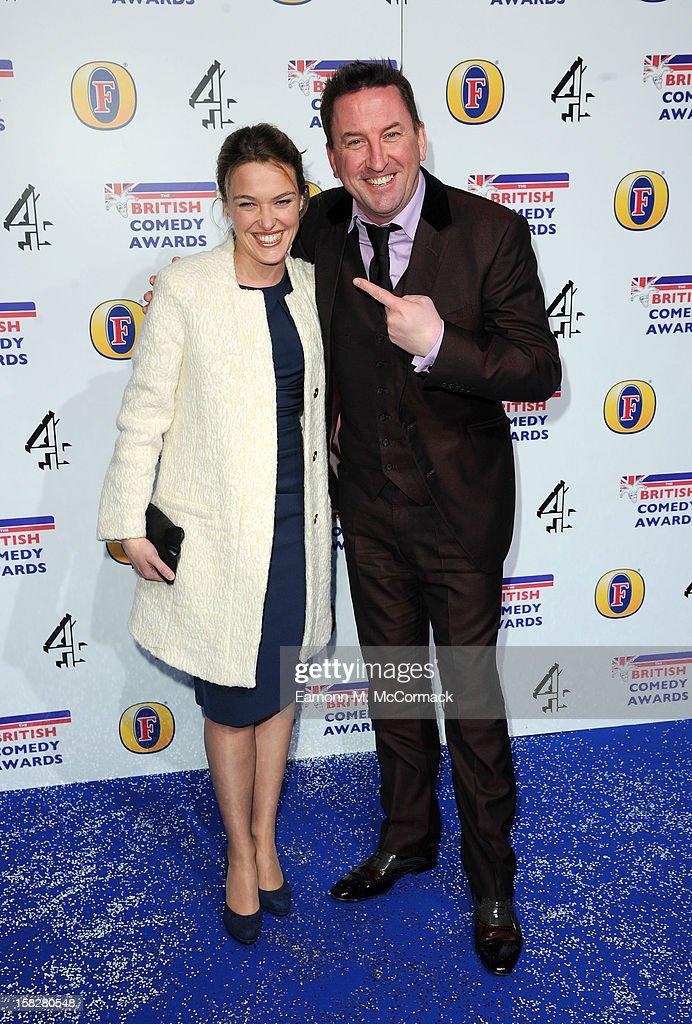 British Comedy Awards - Arrivals : Nachrichtenfoto
