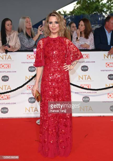 Sally Carman attends the National Television Awards 2021 at The O2 Arena on September 09, 2021 in London, England.