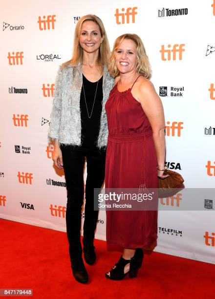 "Sally Cato and Vice President, Content at Netflix Elizabeth Bradley attend The World Premiere of the Limited Series ""Alias Grace"" starring Sarah..."