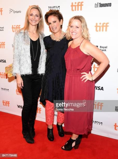"Sally Cato, Noreen Halpern and Vice President, Content at Netflix Elizabeth Bradley attend The World Premiere of the Limited Series ""Alias Grace""..."