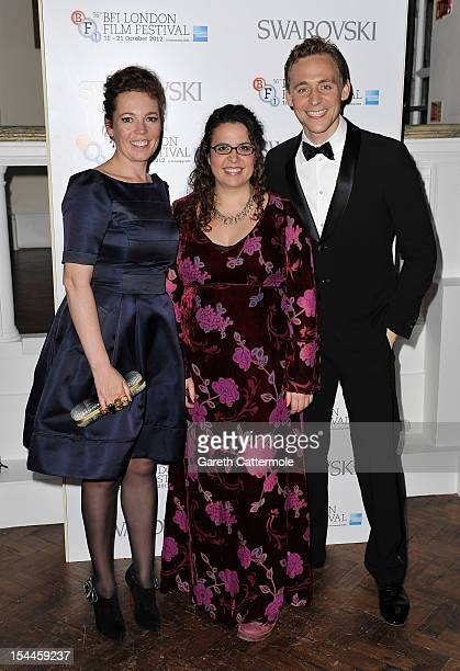 Sally El Hosaini director and screenwriter of 'My Brother The Devil' receives the Best British Newcomer award in partnership with Swarovski with...