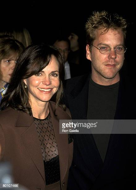 Sally Field and Kiefer Sutherland
