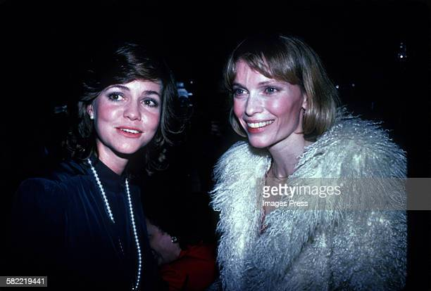 Sally Field and Mia Farrow circa 1980 in New York City