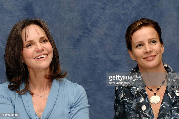 Sally Field and Rachel Griffiths during Brother and Sisters Press Conference with Calista Flockhart Sally Field and Rachel Griffiths at Regent...