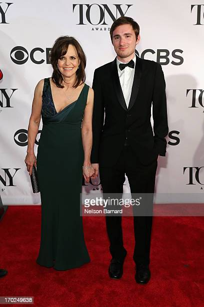 Sally Field and son Samuel Greisman attend The 67th Annual Tony Awards at Radio City Music Hall on June 9 2013 in New York City