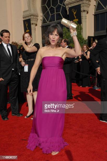 Sally Field arrives on the red carpet at the 59th Annual Primetime Emmy Awards at the Shrine Auditorium in Los Angeles California on Sunday September...