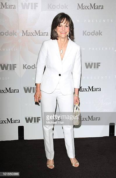 Sally Field arrives to the Women In Film 2010 Crystal Lucy Awards held at Hyatt Regency Century Plaza on June 1 2010 in Century City California