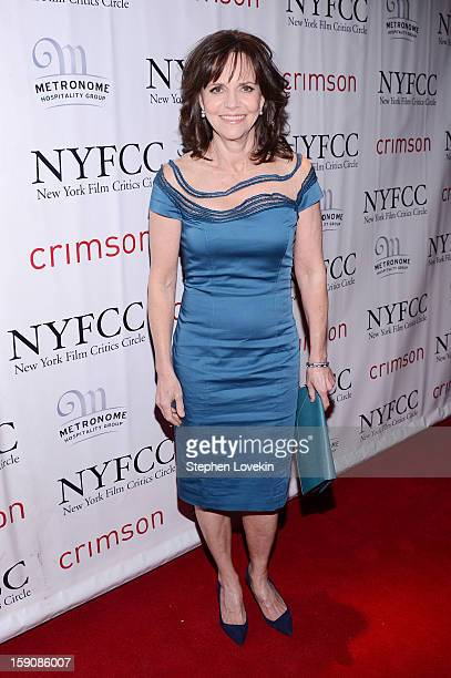 Sally Field attends the 2012 New York Film Critics Circle Awards at Crimson on January 7 2013 in New York City