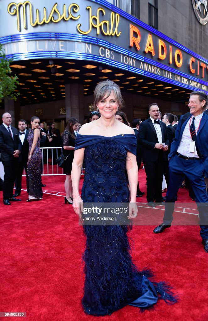 Sally Field attends the 2017 Tony Awards at Radio City Music Hall on June 11, 2017 in New York City.