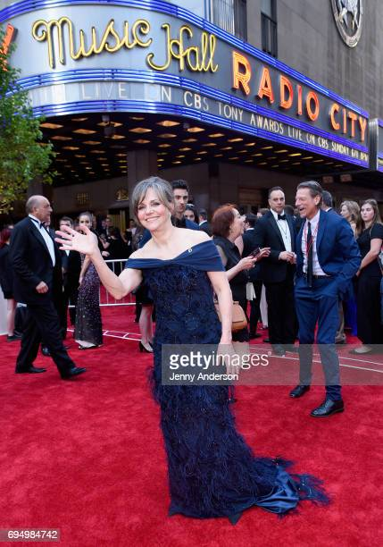 Sally Field attends the 2017 Tony Awards at Radio City Music Hall on June 11 2017 in New York City