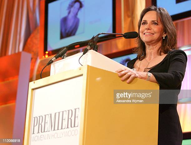 Sally Field during 13th Annual Premiere Women in Hollywood Inside at Beverly Hills Hotel in Beverly Hills California United States