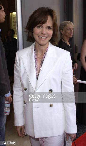 Sally Field during Opening Night of The Producers Red Carpet at Pantages Theatre in Hollywood California United States