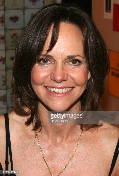 Sally Field during Stars Backstage at Chicago on Broadway Starring Rita Wilson at The Ambassador Theater in New York New York United States