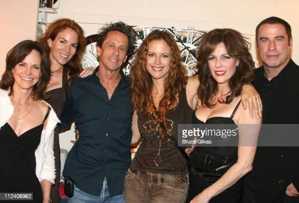 Sally Field Gigi Grazer Brian Grazer Kelly Preston Rita Wilson and John Travolta