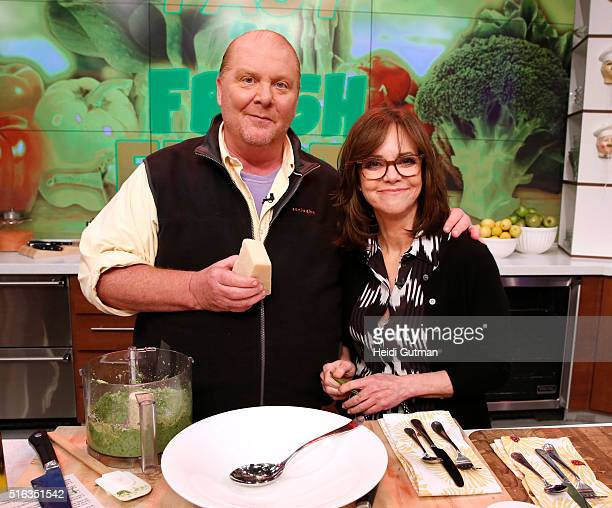 THE CHEW 3/21/16 Sally Field is the guest on ABC's 'The Chew' 'The Chew' airs MONDAY FRIDAY on the ABC Television Network FIELD