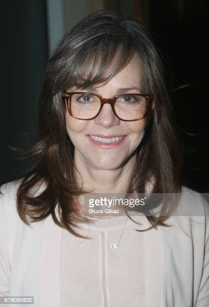 Sally Field poses at The 71st Annual Tony Awards Meet the Nominees Press Junket at Sofitel Hotel on May 3 2017 in New York City