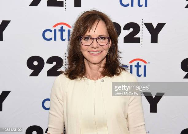 Sally Field poses for photos at the 92nd Street Y Presentd Sally Field In Conversation With Cynthia McFadden at 92nd Street Y on September 17 2018 in...