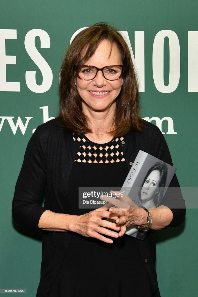 "Sally Field Signs Copies Of Her New Book ""In Pieces"""