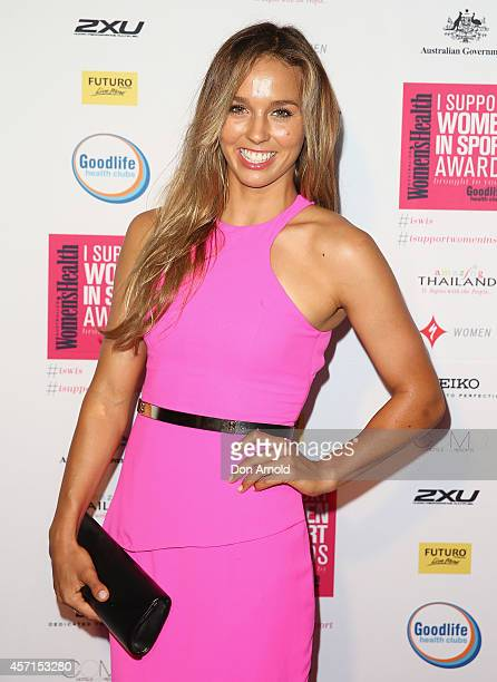 Sally Fitzgibbons attends the Women's Health 'I Support Women In Sport' Awards at The Establishment on October 13 2014 in Sydney Australia
