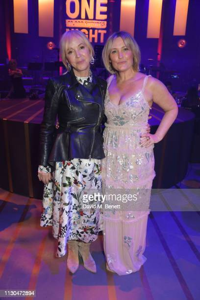 Sally Greene and Mika Simmons attend the Roundhouse Gala an evening raising money for the venue's charitable work with young people at The Roundhouse...