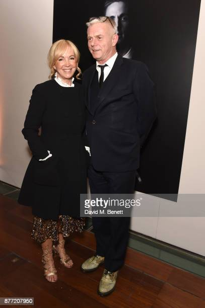 Sally Greene and Stephen Daldry attend the World Premiere after party for season 2 of Netflix 'The Crown' at Somerset House on November 21 2017 in...
