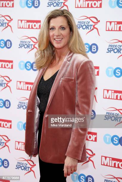 Sally Gunnell attends the Pride of Sport awards at Grosvenor House on November 22 2017 in London England
