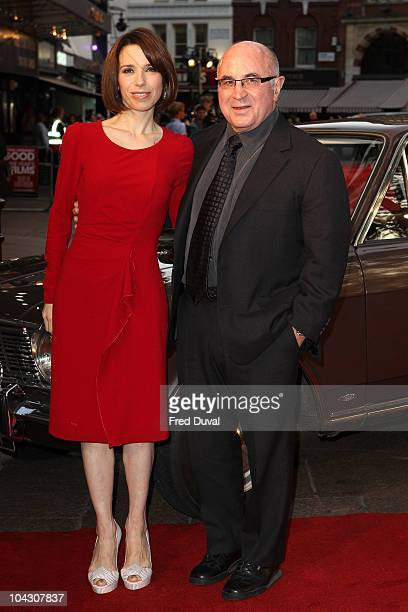 Sally Hawkins and Bob Hoskins attends the world premiere of 'Made in Dagenham' at Odeon Leicester Square on September 20 2010 in London England