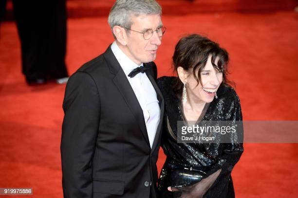 Sally Hawkins and guest attend the EE British Academy Film Awards held at Royal Albert Hall on February 18 2018 in London England