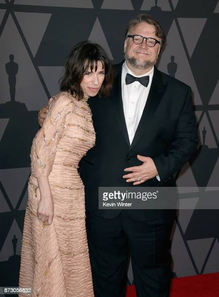 Sally Hawkins and Guillermo del Toro attend the Academy of Motion Picture Arts and Sciences' 9th Annual Governors Awards at The Ray Dolby Ballroom at...