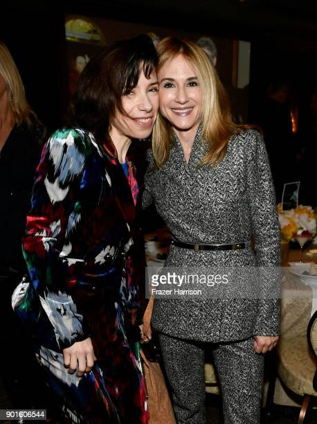 Sally Hawkins and Holly Hunter attend the 18th Annual AFI Awards at Four Seasons Hotel Los Angeles at Beverly Hills on January 5 2018 in Los Angeles...