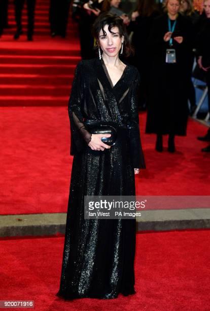 Sally Hawkins attending the EE British Academy Film Awards held at the Royal Albert Hall Kensington Gore Kensington London