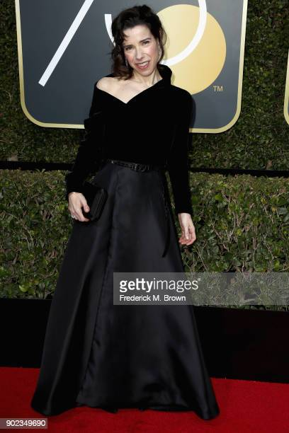 Sally Hawkins attends The 75th Annual Golden Globe Awards at The Beverly Hilton Hotel on January 7 2018 in Beverly Hills California