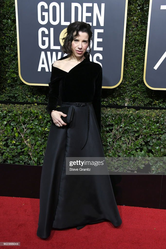 Sally Hawkins attends The 75th Annual Golden Globe Awards at The Beverly Hilton Hotel on January 7, 2018 in Beverly Hills, California.