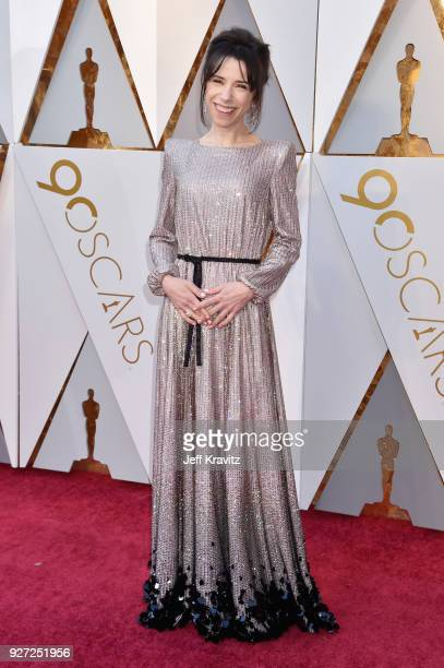 Sally Hawkins attends the 90th Annual Academy Awards at Hollywood Highland Center on March 4 2018 in Hollywood California