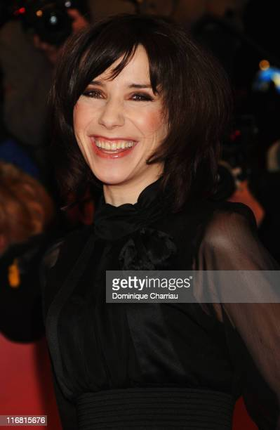 Sally Hawkins attends the 'Be Kind Rewind' premiere as part of the 58th Berlinale Film Festival at the Berlinale Palast on February 16 2008 in Berlin...