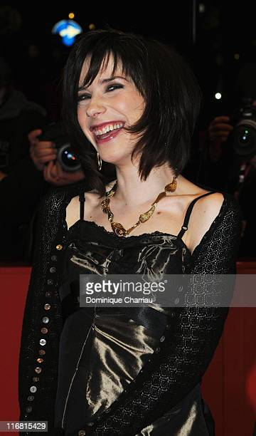 Sally Hawkins attends the 'HappyGoLucky' Premiere as part of the 58th Berlinale Film Festival at the Berlinale Palast on February 12 2008 in Berlin...