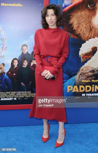 Sally Hawkins attends the Los Angeles Premiere Paddington 2 at Regency Village Theatre on January 6 2018 in Westwood California