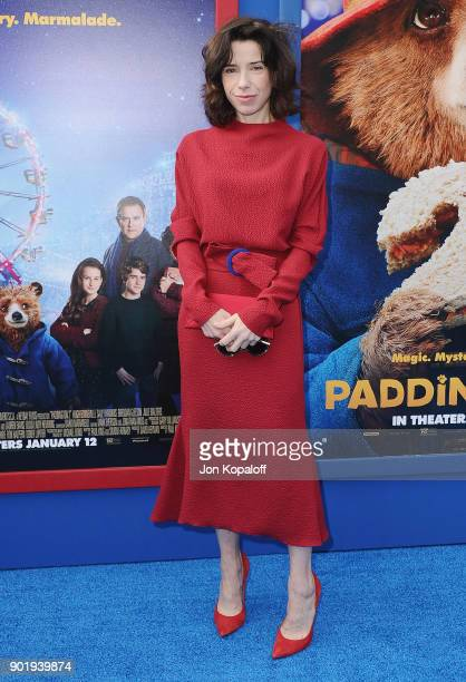 Sally Hawkins attends the Los Angeles Premiere 'Paddington 2' at Regency Village Theatre on January 6 2018 in Westwood California