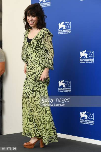 Sally Hawkins attends the 'The Shape Of Water' photocall during the 74th Venice Film Festival at Sala Casino on August 31 2017 in Venice Italy