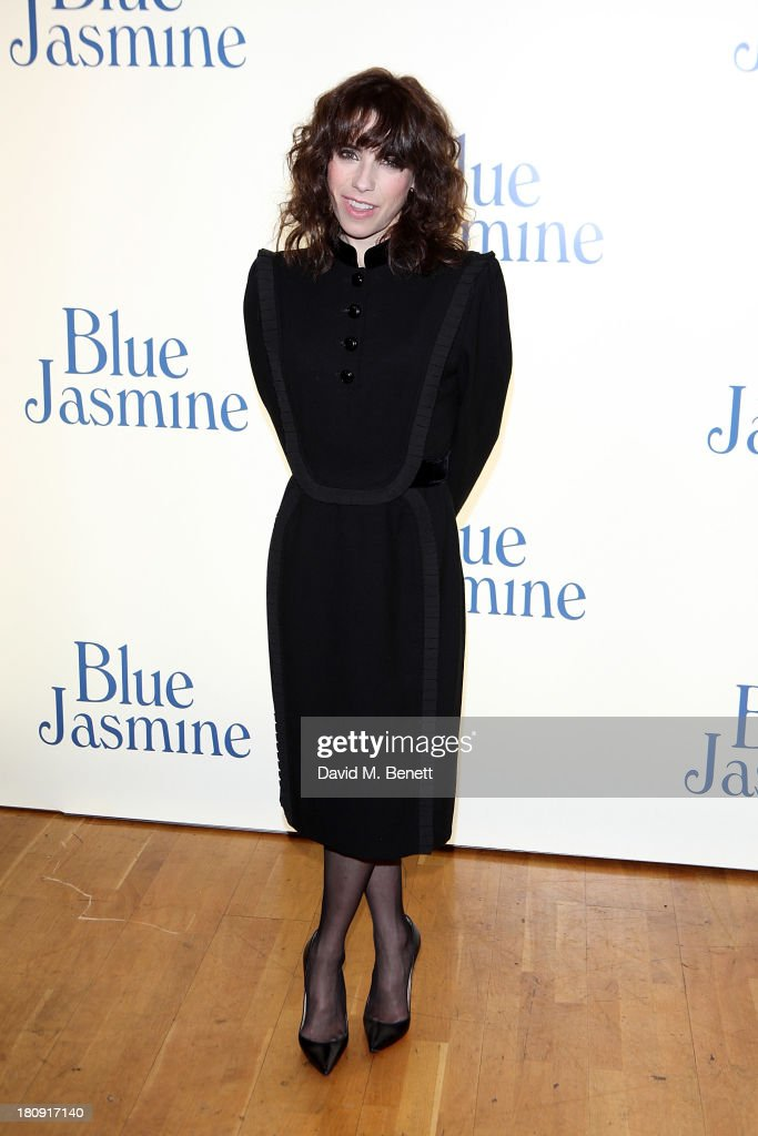 Sally Hawkins attends the UK premiere of 'Blue Jasmine' at Odeon West End on September 17, 2013 in London, England.