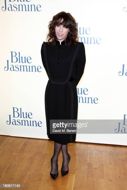 Sally Hawkins attends the UK premiere of 'Blue Jasmine' at Odeon West End on September 17 2013 in London England