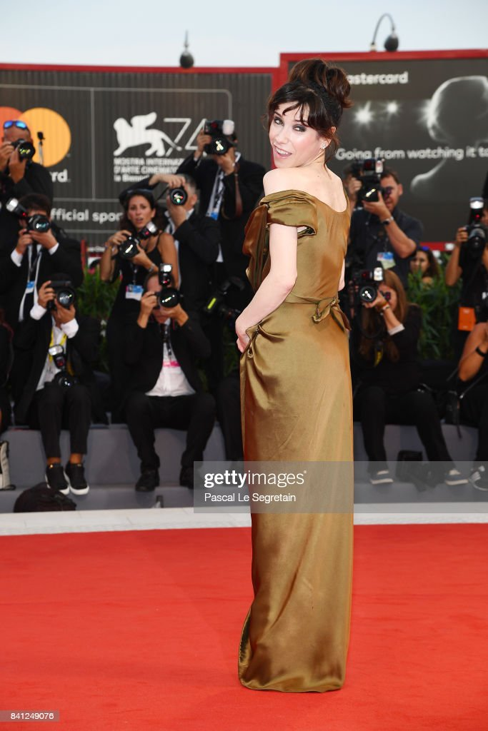 Sally Hawkins walks the red carpet ahead of the 'The Shape Of Water' screening during the 74th Venice Film Festival at Sala Grande on August 31, 2017 in Venice, Italy.