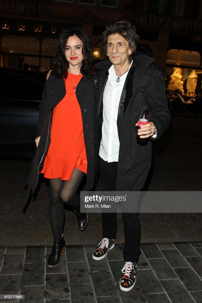 London Celebrity Sightings -  November 13, 2017