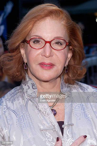 Sally Jesse Raphael at the NY Premiere of Harry Potter and the Sorcerer's Stone at the Ziegfeld Theatre in New York City Photo Evan...