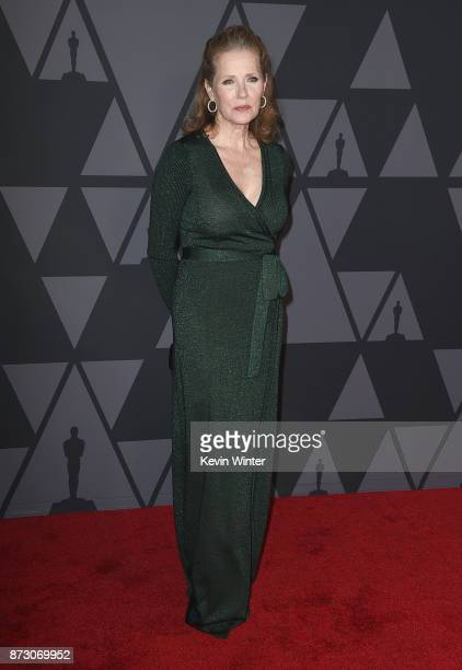 Sally Jo Effenson attends the Academy of Motion Picture Arts and Sciences' 9th Annual Governors Awards at The Ray Dolby Ballroom at Hollywood...