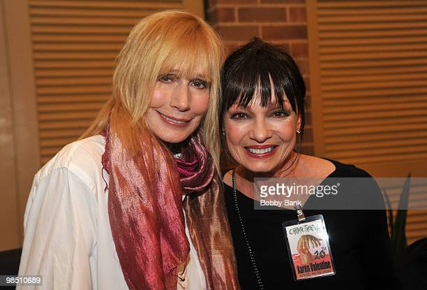 Sally Kellerman and Karen Valentine attend Day 1 of the 2010 Chiller Theatre Expo at the Hilton Parsippany on April 16 2010 in Parsippany New Jersey