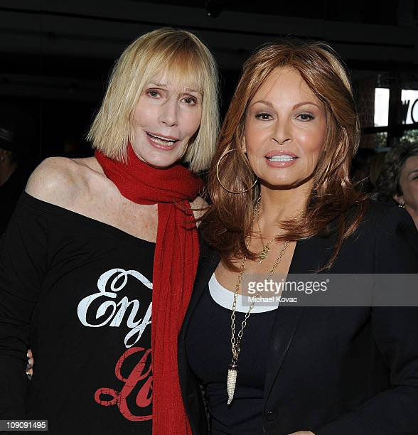 Sally Kellerman and Raquel Welch attend L'Oreal Paris Sherry Lansing honor David O Russell and The Fighter with a special Valentine's Day luncheon on...